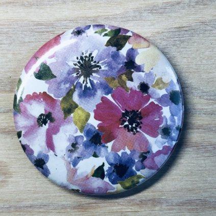 Zrcátko Flowers