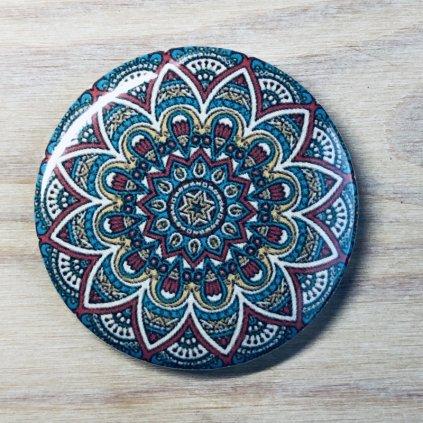 Zrcátko Mandala barevná