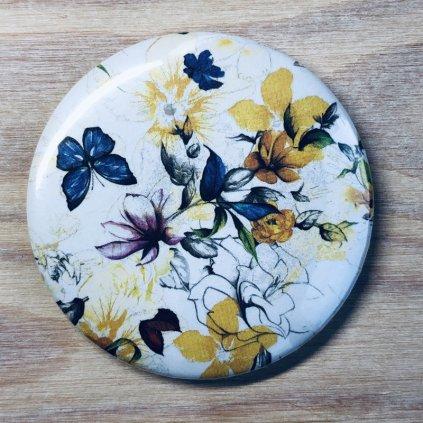 Zrcátko Flowers 2