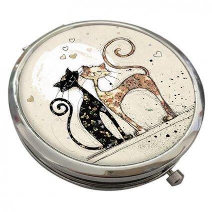 Zrcátko Zamilované kočky BUG ART