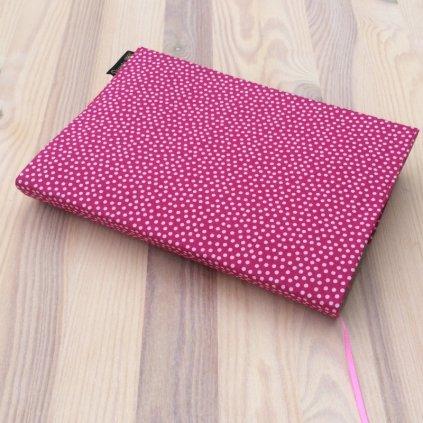 1359 Obal na knihu puntík na růžové, Decente