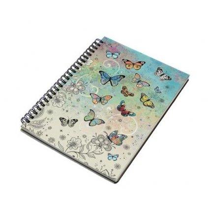 Sešit A5 BUG0042 - Motýlci