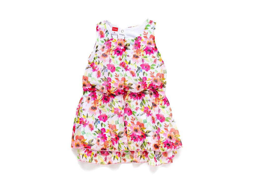 """Letní dívčí šaty """"FLOWERS"""""""