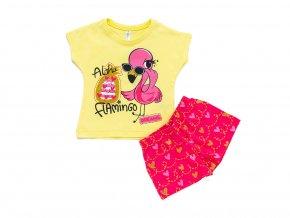 """Dívčí bavlněné pyžamo """"FLAMINGO"""""""