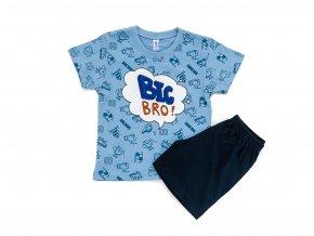"""Chlapecké bavlněné pyžamo """"BIG BRO"""""""