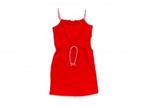 """Letní dívčí šaty """"ROPE RED"""""""