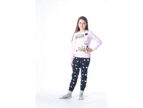 """Dívčí bavlněné pyžamo """"SNOOZE"""""""