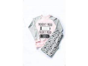 """Dívčí bavlněné pyžamo """"MOOD"""""""