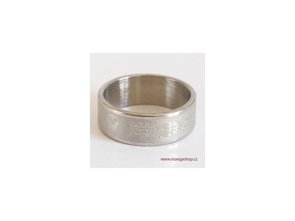 Elegantní prsten Soul Eater