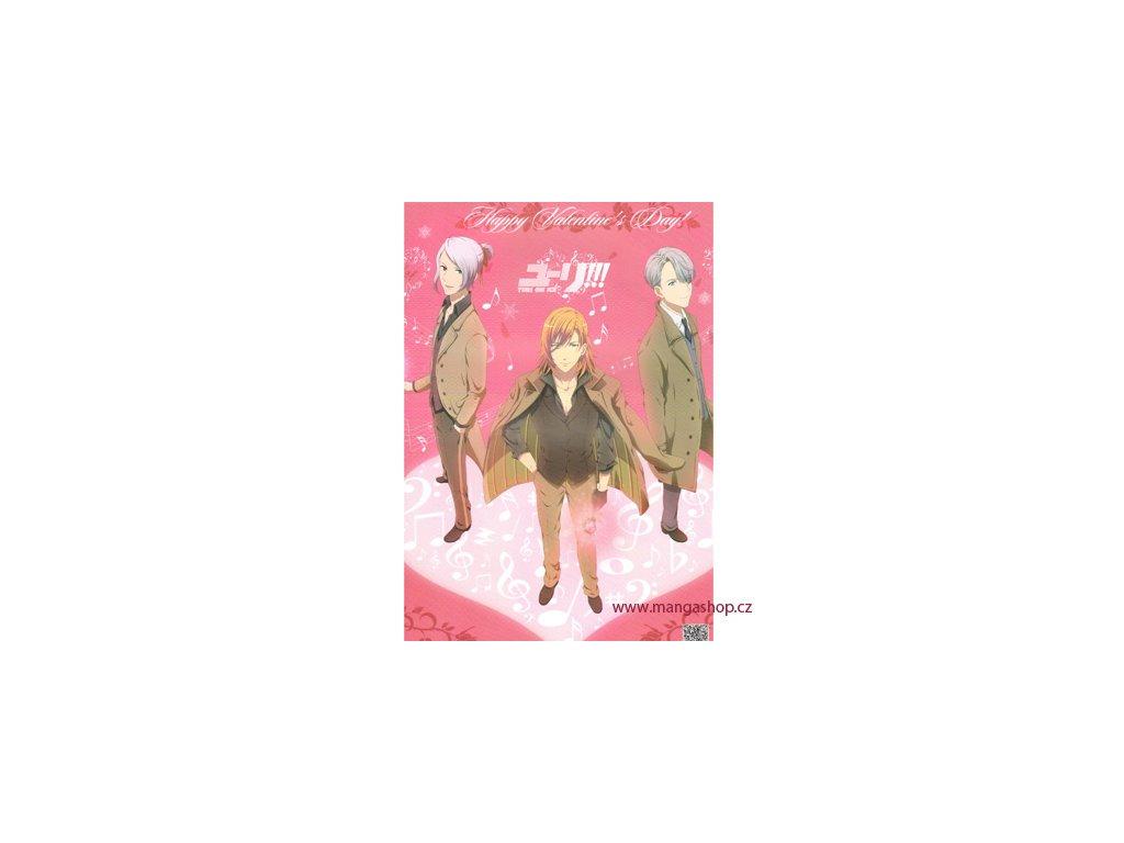 Plakát Yuri!!! on Ice 11