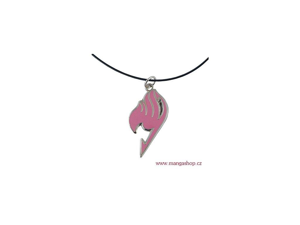 Přívěšek Fairy Tail - růžový