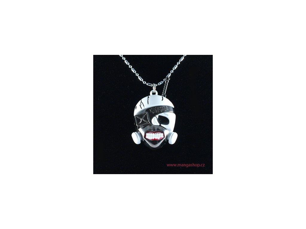 Přívěšek Kanekiho maska 2