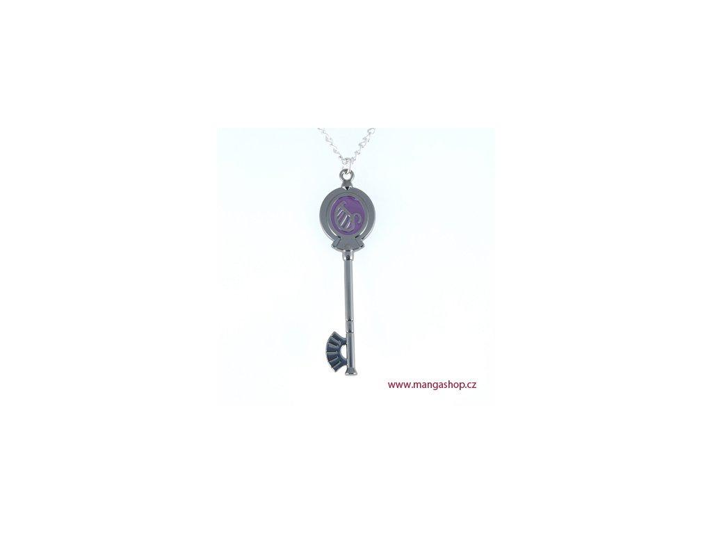 Řetízek s přívěškem - klíč Lyra