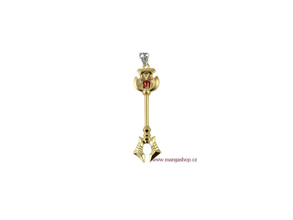 Řetízek s přívěškem - klíč od brány Škorpiona