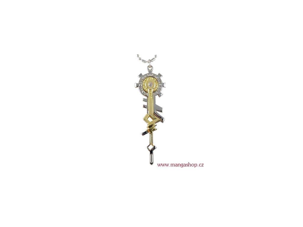 Řetízek s přívěškem - klíč Starry Sky