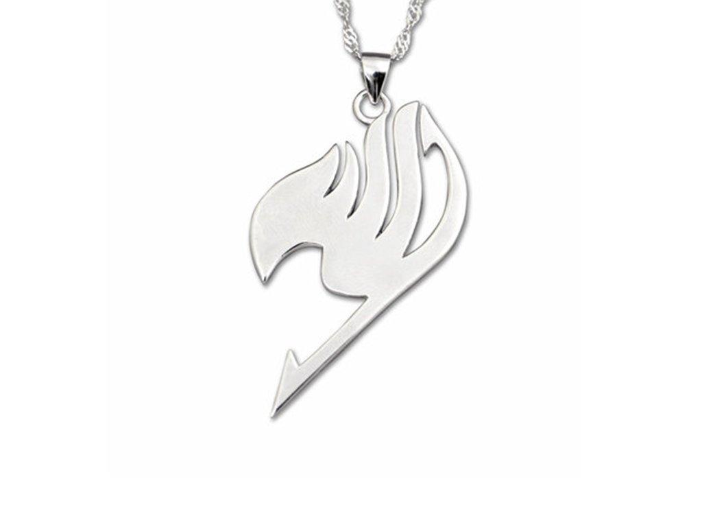 stříbrný řetízek fairy tail