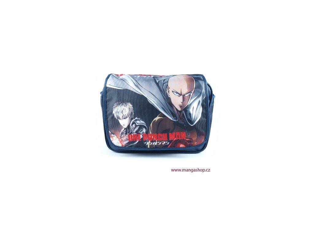 Tmavě modrá taška One Punch Man