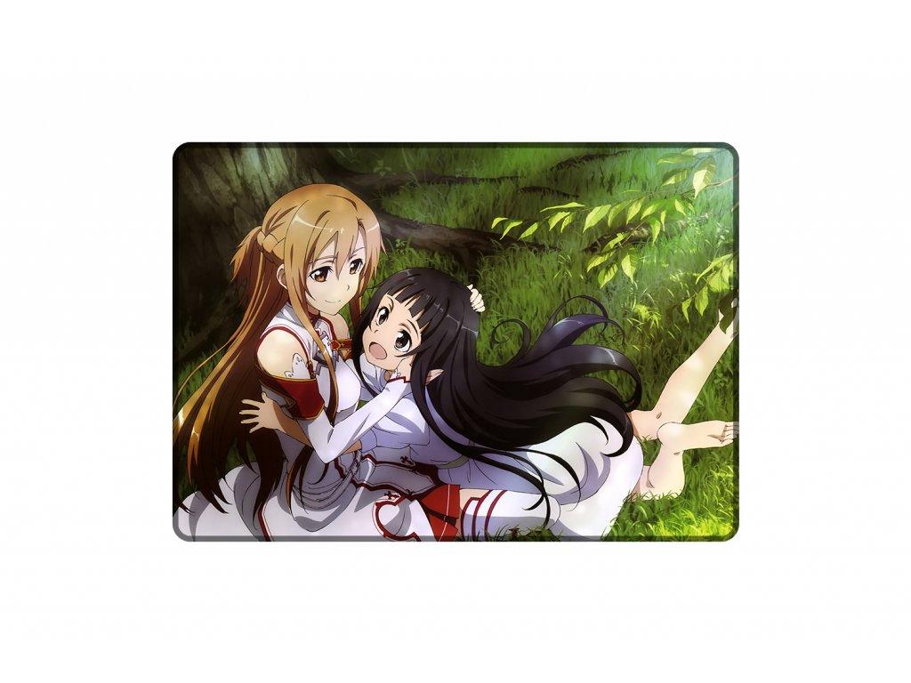 Podložka Asuna a Yui A3 mock up