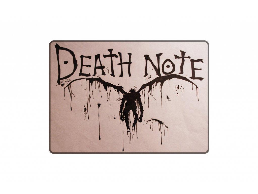 PODLOŽKA Death Note MOCK UP