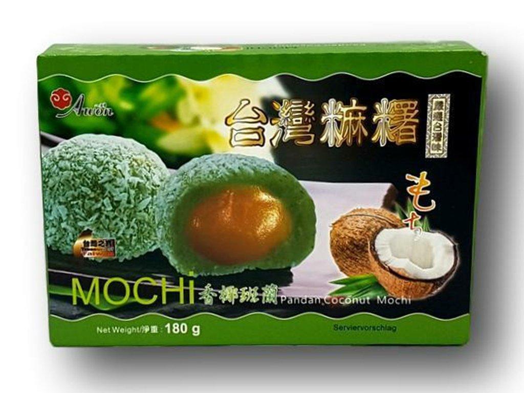 mochi kokos pandan