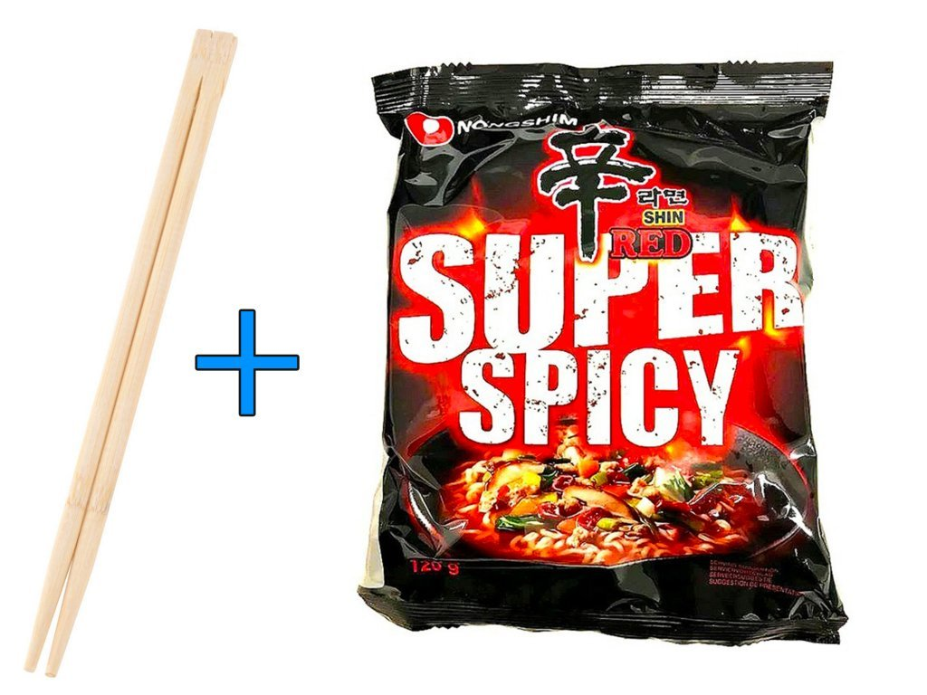 NONG SHIM SUPER SPICY RED - 120g