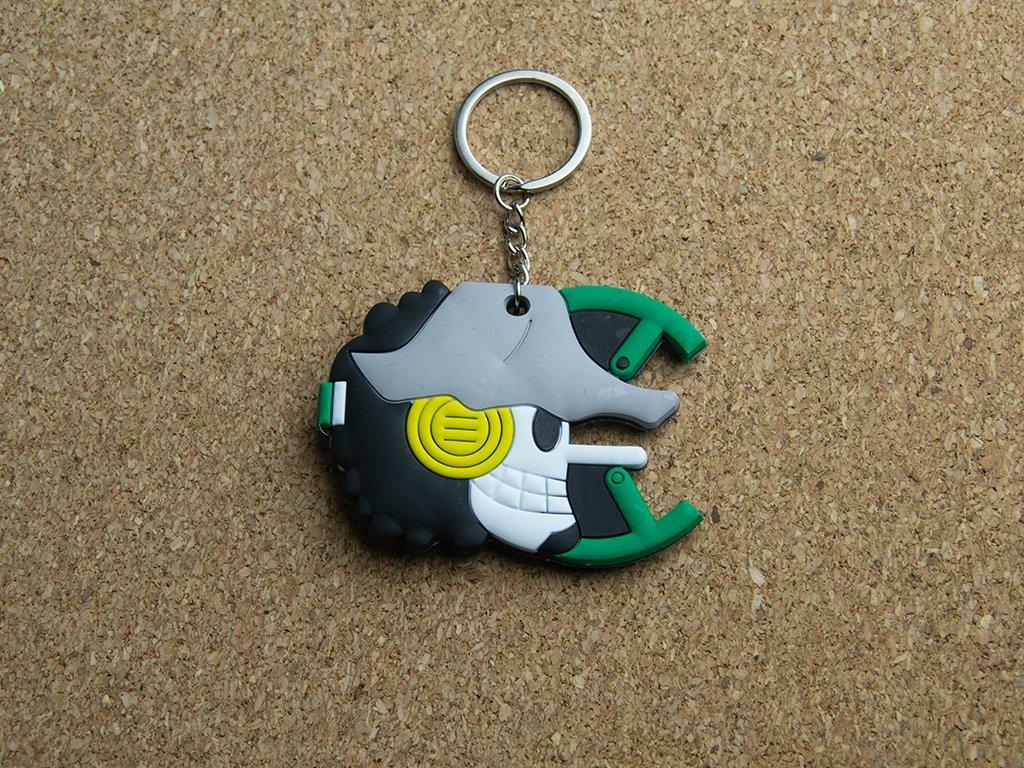 Oboustranná klíčenka - logo Usopp