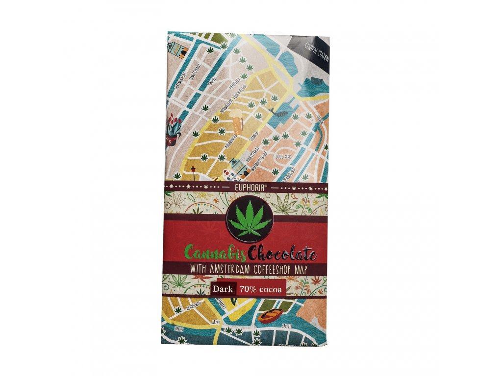 Euphoria cannabis chocolate 70% cocoa