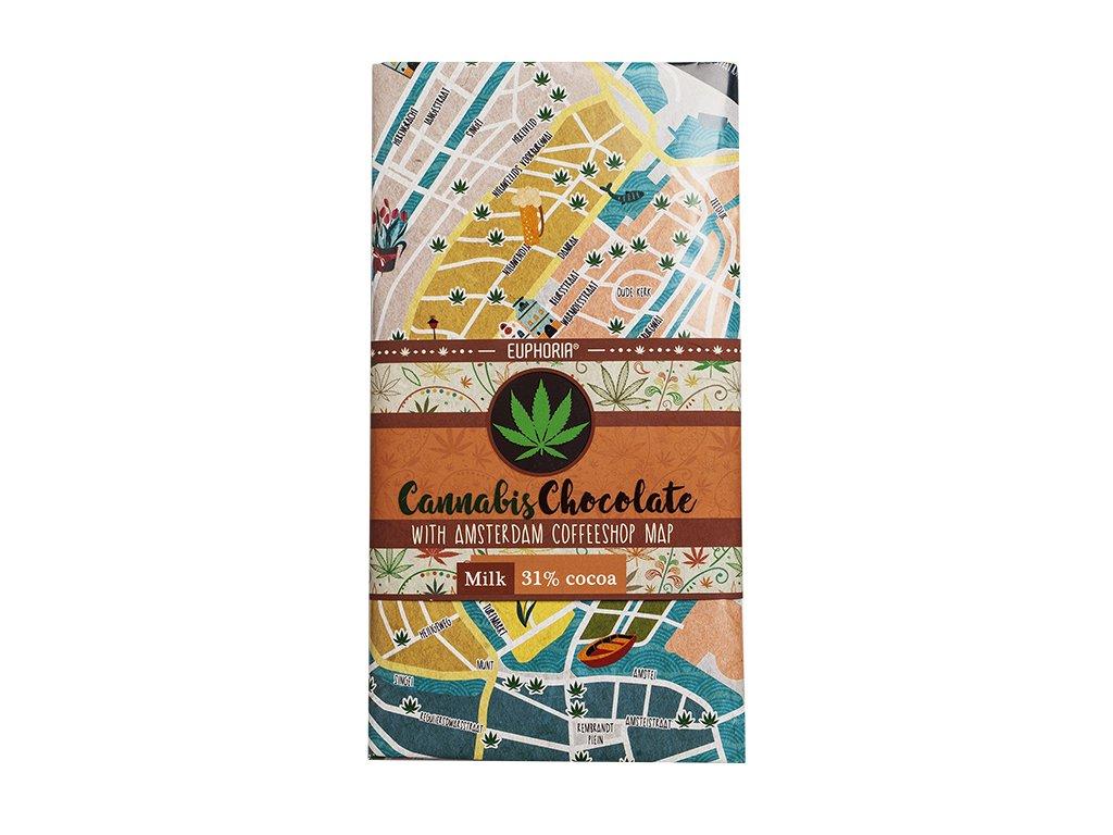 Euphoria cannabis chocolate 31% cocoa