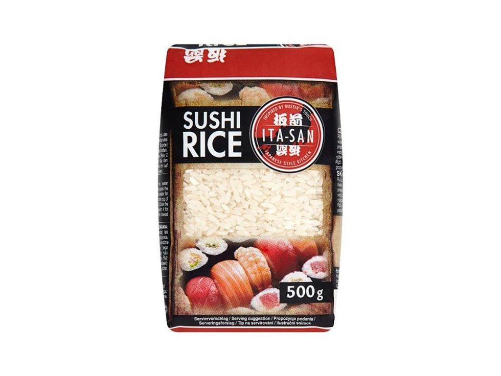 Ita San ryže na sushi