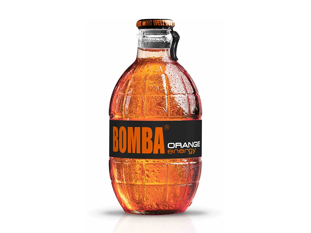 Bomba Energy Drink Orange - 250 ml
