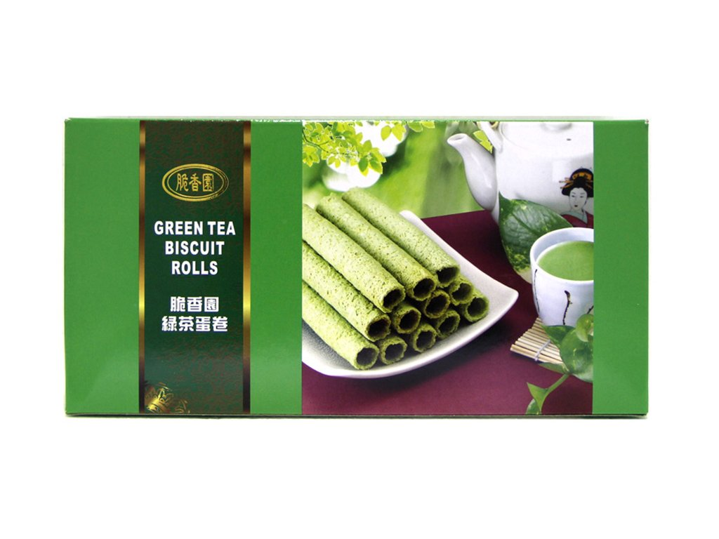 gREEN TEA BISCUIT ROLLS