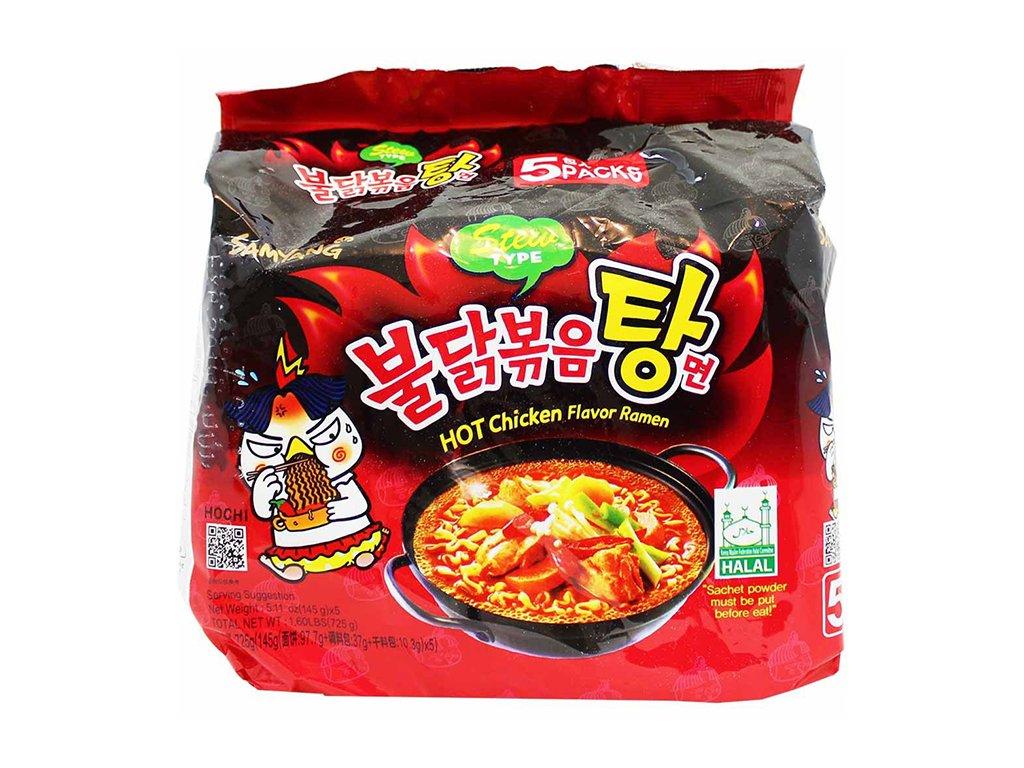 Samyang stew hot chicken flavour