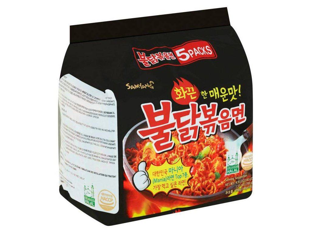 Hot chicken ramen 5pack