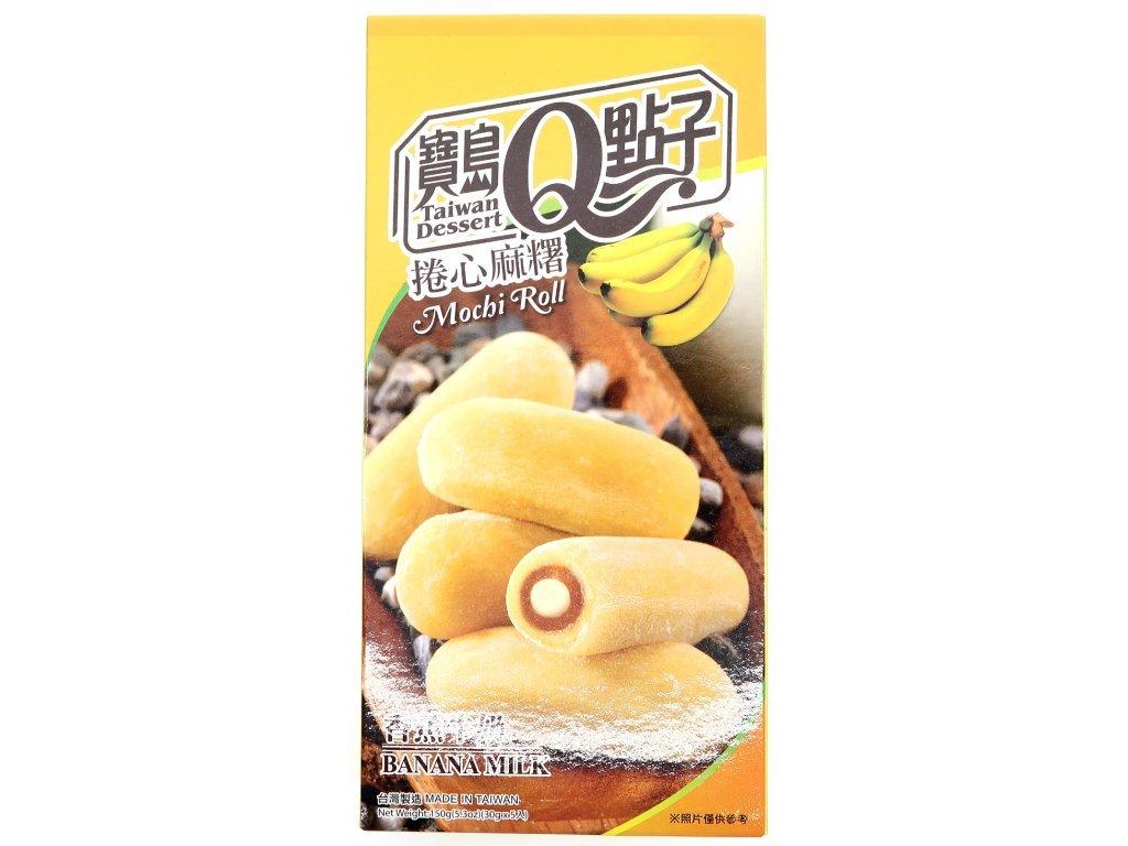 mochi rolky banan