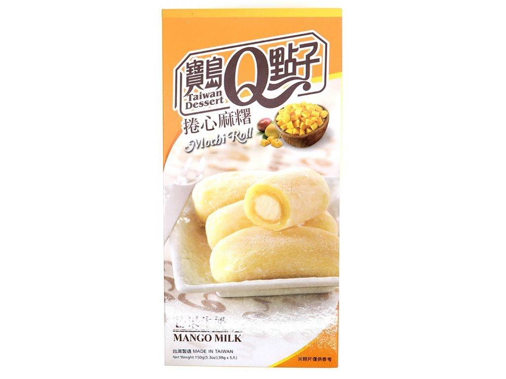 mochi rolky mango