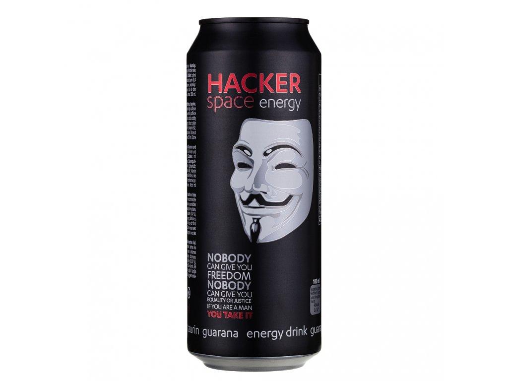 Hacker Space Energy energetický nápoj - Guarana 500ml plech