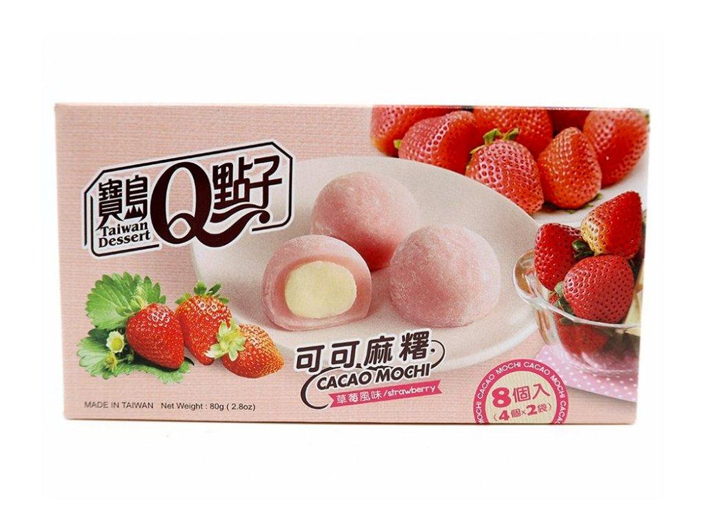 Mochi strawberry cacao