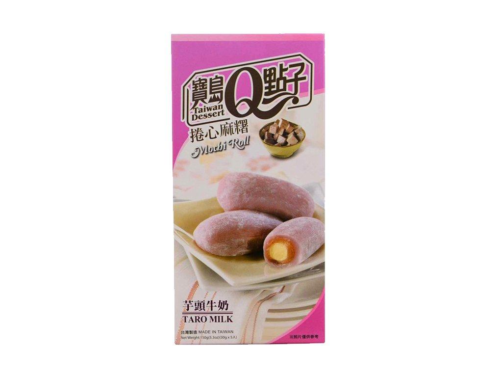 Mochi Rolls Taro Milk