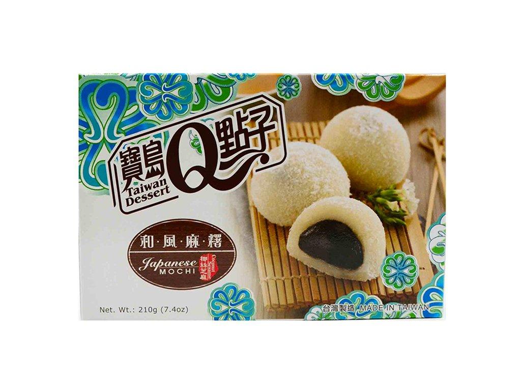 Mochi Coconut Sesame