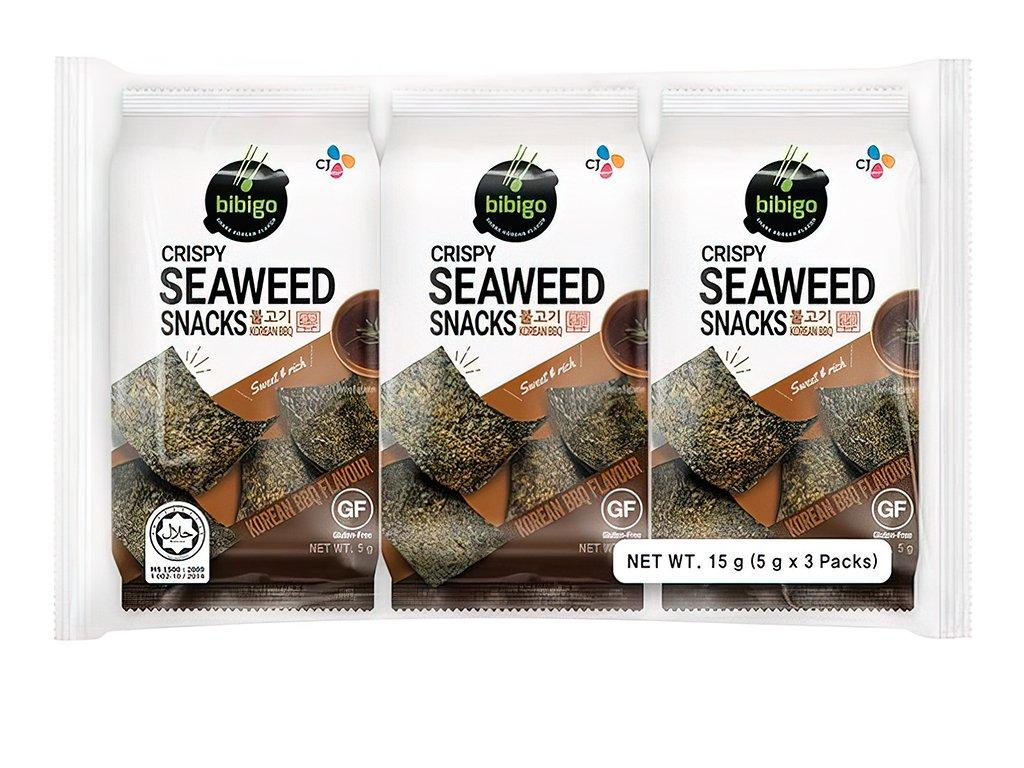 Crispy SeaWeed Snacks BBQ