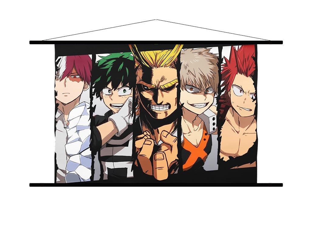 Wallscroll BNHA Characters