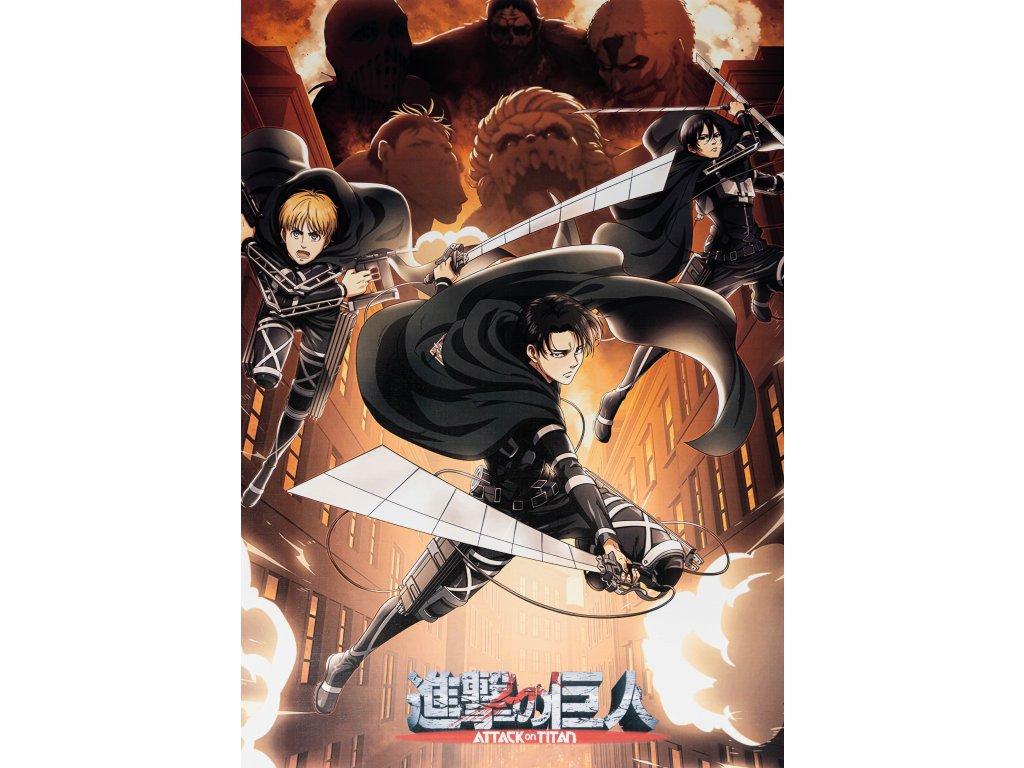 Plakát Attack on Titan - 4 (N)