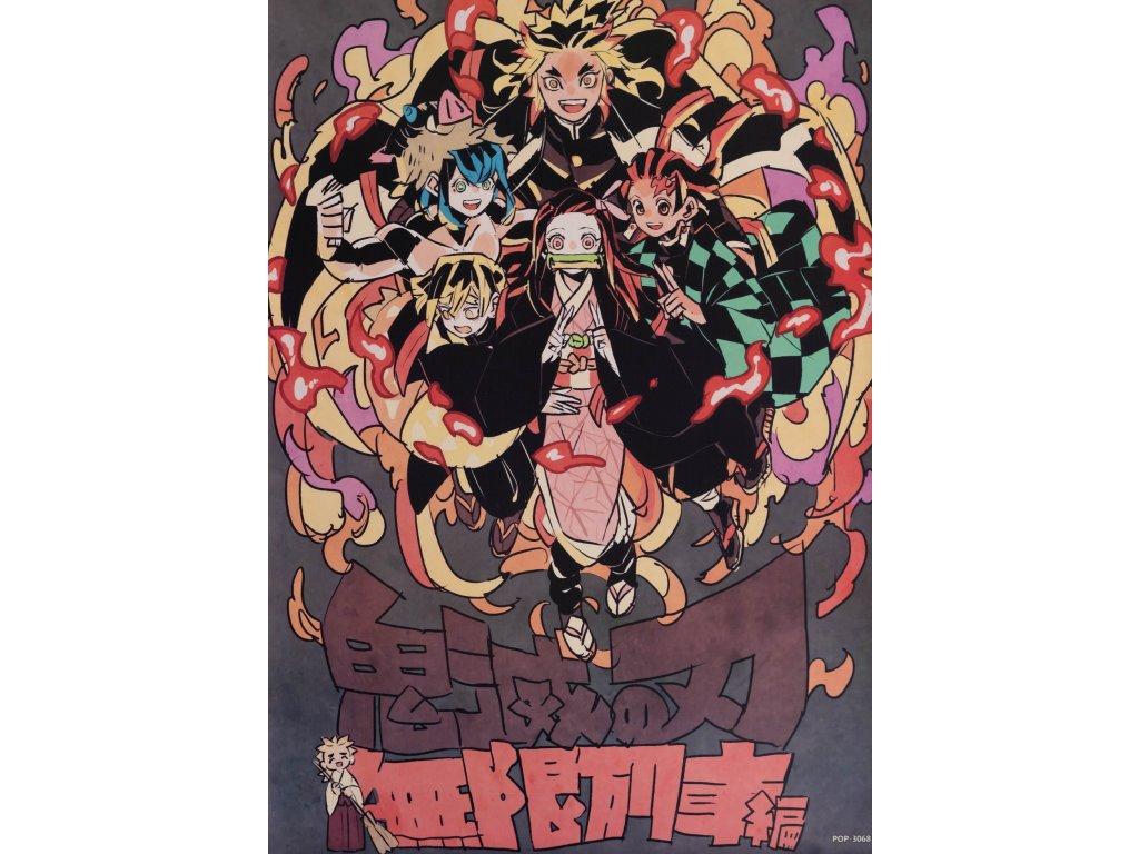 Plakát Demon Slayer - 5 (N)