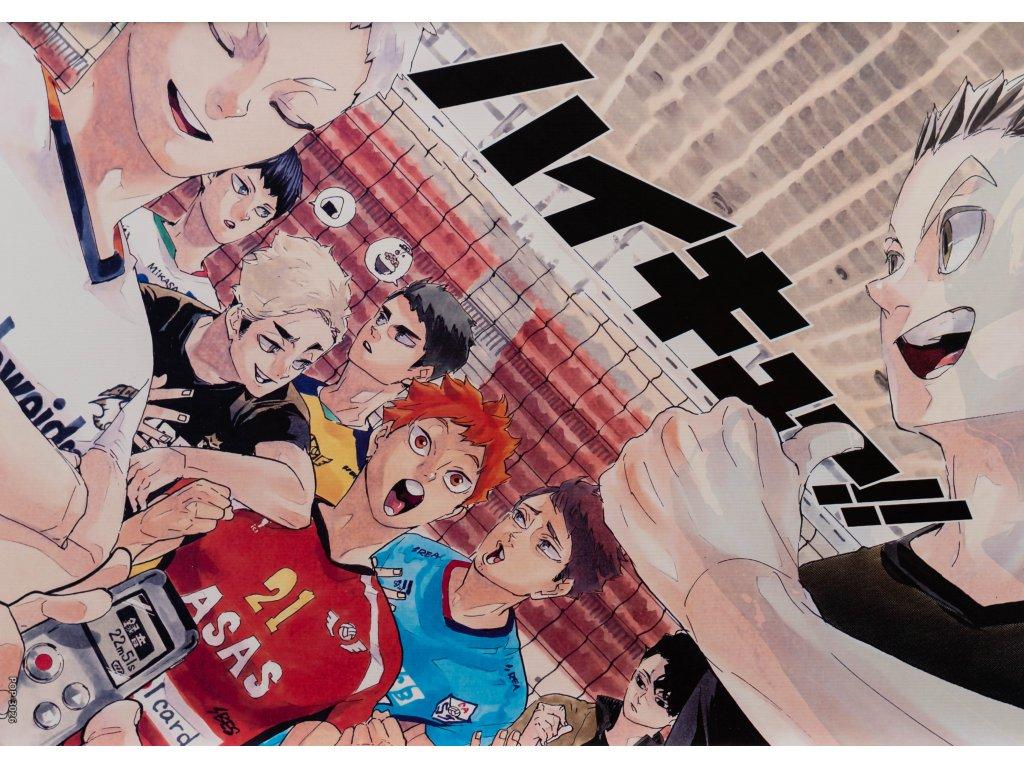 Plakát Haikyu - 6 (N)