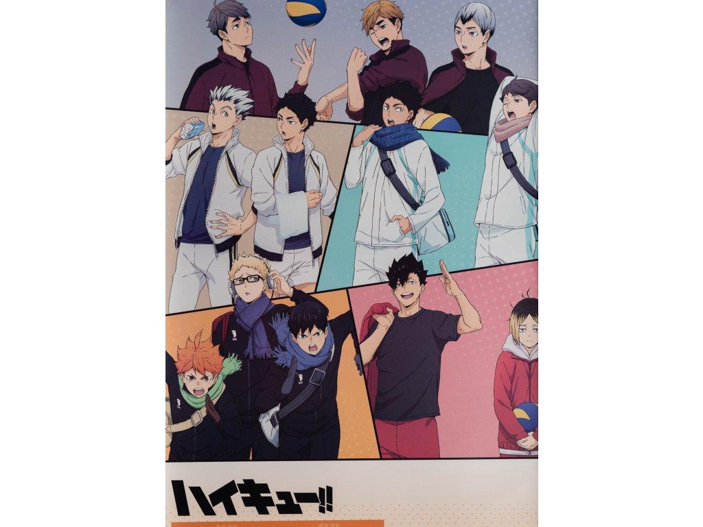 Plakát Haikyu - 8 (N)