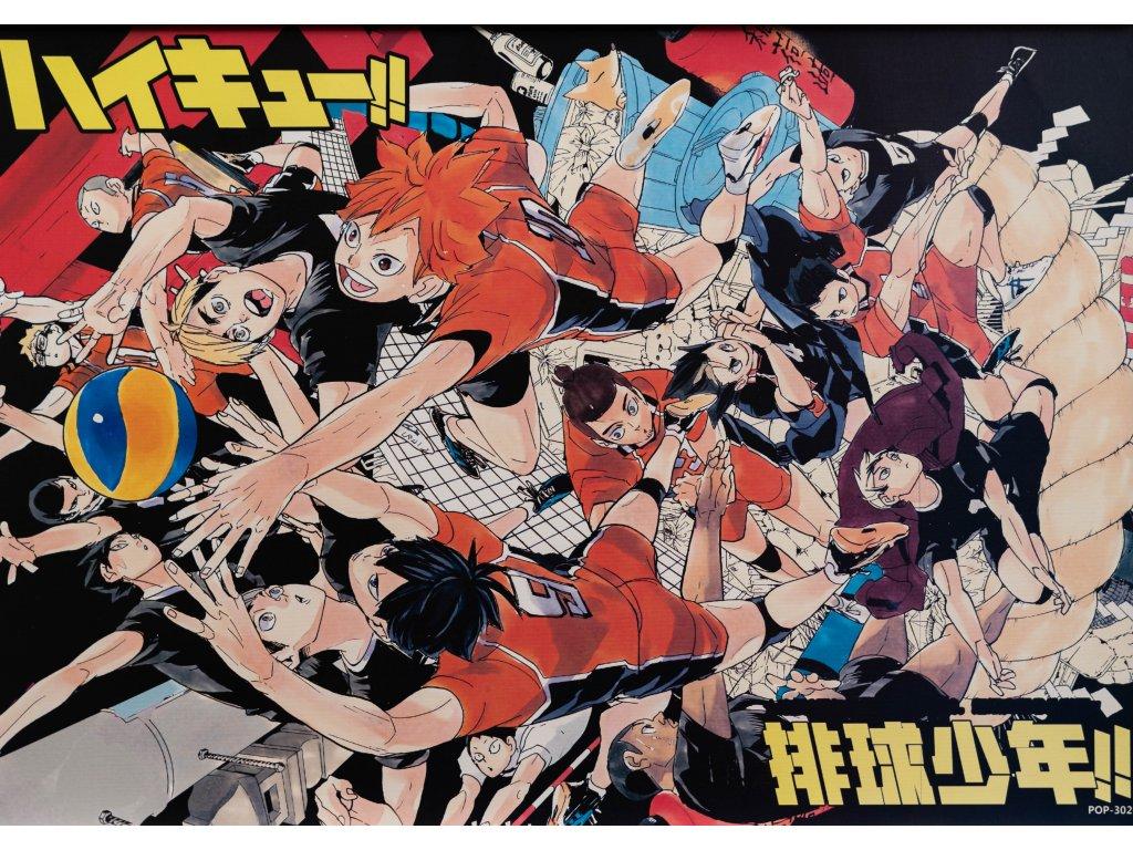 Plakát Haikyu - 14 (N)