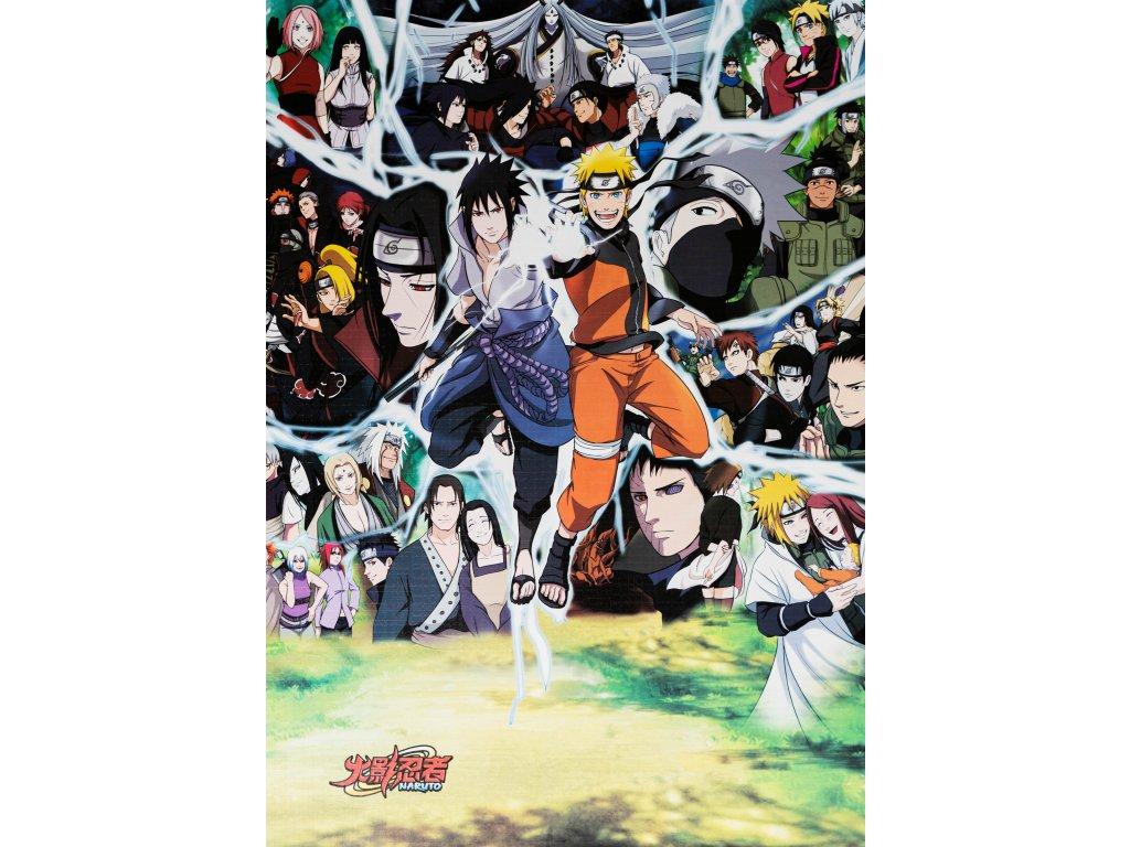 Plakát Naruto - 3 (N)