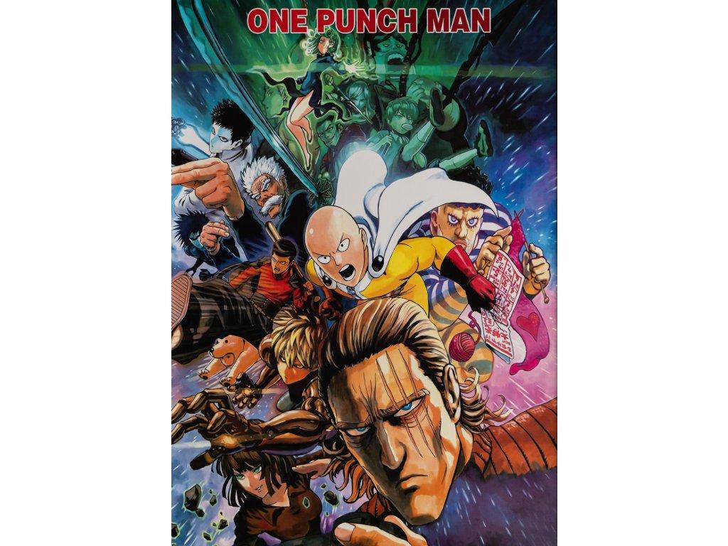 Plakát One Punch Man - 8 (N)