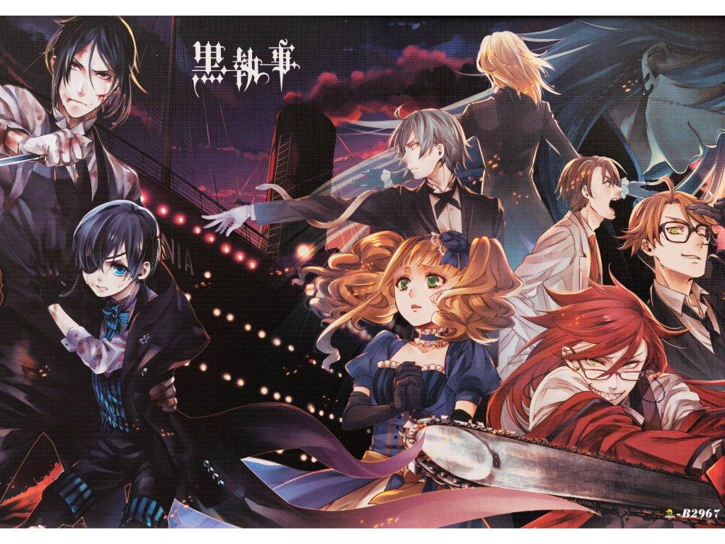 Plakát Kuroshitsuji - 3 (N)