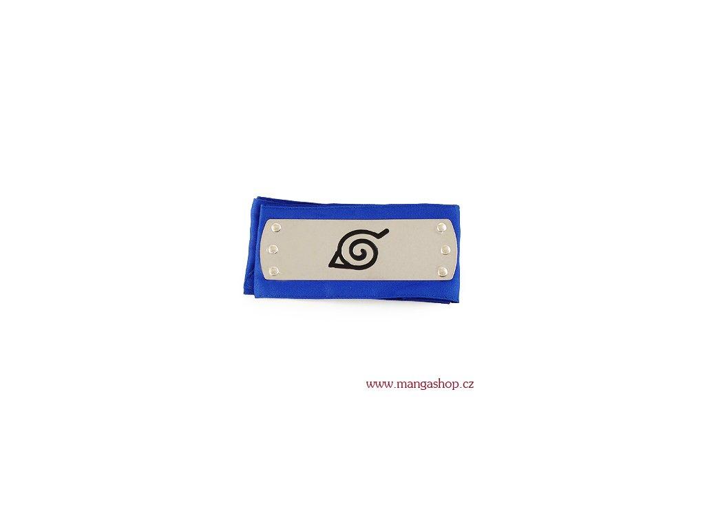 Čelenka Listová - modrá